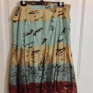 Relativity cotton skirt size 14